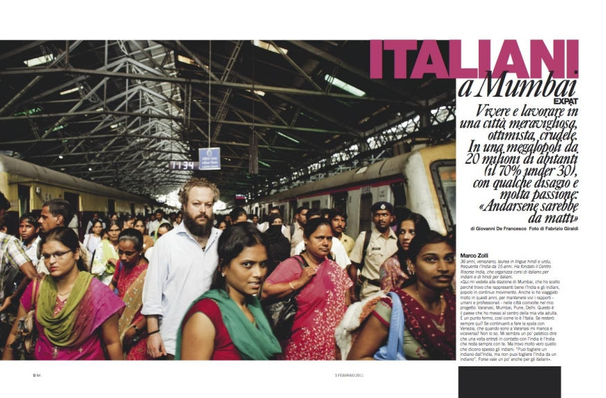 110205 / ITALIANIDINDIA on D n°728 laRepubblica