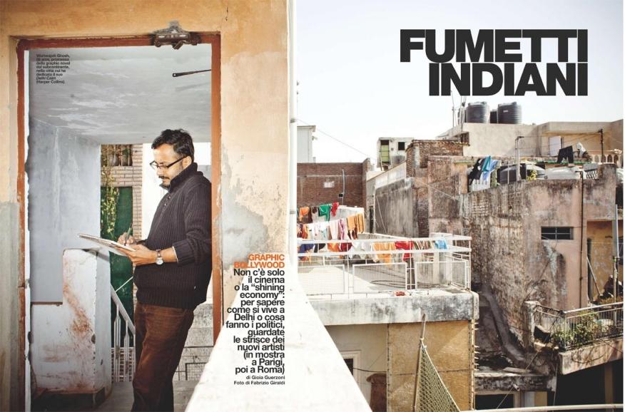 110205 / INDIAN COMICS on D n°735 laRepubblica